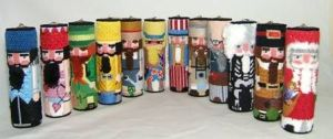 12 Nutcrackers by Patty Paints