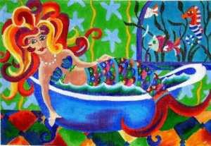 Mermaid Bathing
