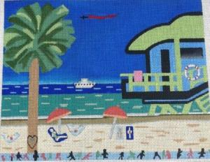 5-14 beach scene