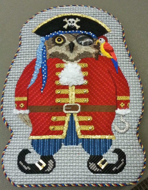 Captain Blackbeard Needlepoint