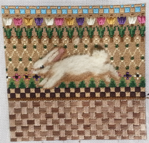 bunny rabbit needlepoint